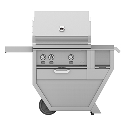 "Deluxe 30"" Grill with Work Top and Storage Drawer"