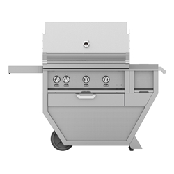 "Deluxe 36"" Grill with Work Top and Storage Drawer"