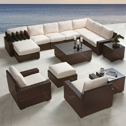 Lloyd Flanders Contempo Large Sectional Set - LF-CONTEMPO-SET6
