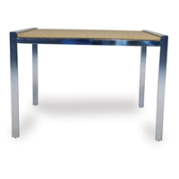Lloyd Flanders Elements 42 inch Square Dining Table - 203042