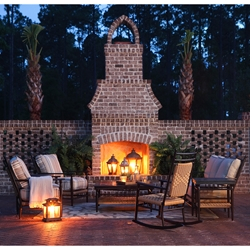 Lloyd Flanders Low Country 7 Piece Patio Set - LF-LOWCOUNTRY-SET3