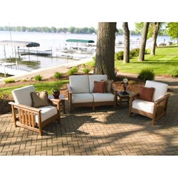 PolyWood Mission 5 Piece Patio Set - PW-MISSION-SET4