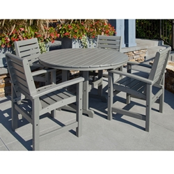 PolyWood Signature 5 Piece Dining Set - PW-SIGNATURE-SET2