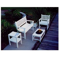 PolyWood Traditional Garden Patio Set - PW-TGARDEN-SET2