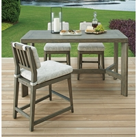 Tommy Bahama La Jolla Outdoor Counter Height Set for 4 - TB-LAJOLLA-SET10