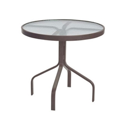 "Windward Acrylic 30"" Round Dining Table - WT3018A"