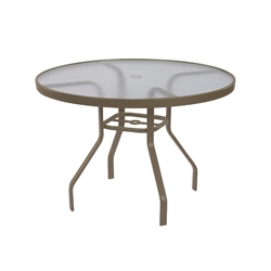 "Windward Acrylic 36"" Round Dining Table - WT3618A"
