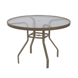 "Windward Acrylic 42"" Round Dining Table - WT4218A"