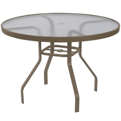 "Windward Acrylic 48"" Round Dining Table - WT4818A"