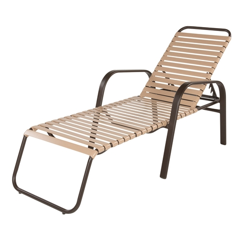 Windward Anna Maria Strap Stackable Chaise Lounge - W7710