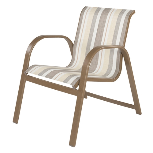 Windward Anna Maria Sling Stackable Dining Arm Chair - W7750SL