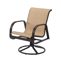 Windward Cabo Sling Dining Swivel Rocker - W3435