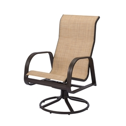 Windward Cabo Sling High Back Swivel Rocker - W3435HB