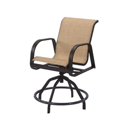 Windward Cabo Sling Swivel Balcony Chair - W3438