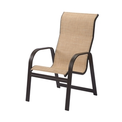 Windward Cabo Sling High Back Dining Chair - W3450HB