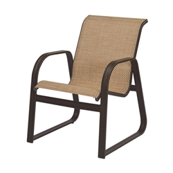 Windward Cabo Sling Sled Based Dining Chair - W3452