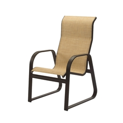 Windward Cabo Sling High Back Sled Based Dining Chair - W3452HB