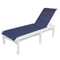 Windward Cape Cod MGP Sling Armless Chaise Lounge - Comfort Height - W7310-18XT