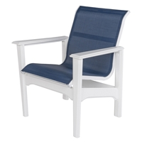 Windward Cape Cod MGP Sling Dining Arm Chair - Comfort Height - W7350XT