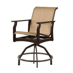 Windward Covina MGP Sling Swivel Balcony Chair - W5838