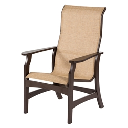 Windward Covina MGP Sling High Back Dining Chair - W5850HB