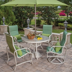 Windward Eclipse Sling Outdoor Dining Set for 4 - WW-ECLIPSE-SET3