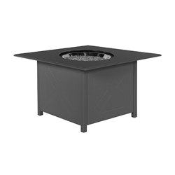 "Windward Marine Grade Polymer 36"" Square Fire Pit - WTFP36SMGP"