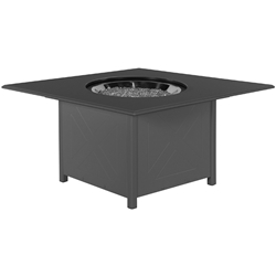 "Windward Marine Grade Polymer 42"" Square Fire Pit - WTFP42SMGP"