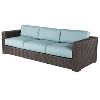 Windward Georgia Wicker Sofa - W43355