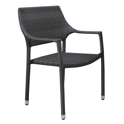 Windward Georgia Wicker Stackable Dining Chair - W4350