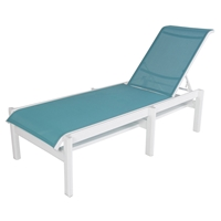 Windward Hampton Sling Armless Chaise Lounge - W6810