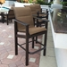 Marine grade polymer outdoor balcony chairs