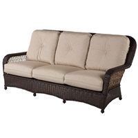 Windward Hannah Woven Wicker Sofa - W66355