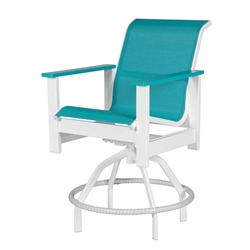 Windward Kingston Sling Swivel Balcony Chair - W4238