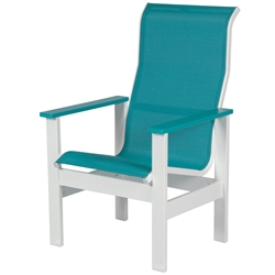 Windward Kingston Sling High Back Dining Arm Chair - W4250HB