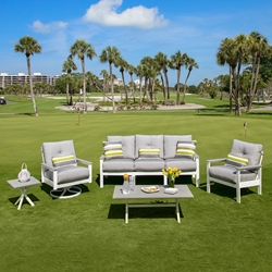 Windward Kingston MGP Sofa and Lounge Chair Outdoor Set - WW-KINGSTON-SET1