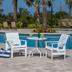 Windward Kingston MGP Bistro Outdoor Set for 2 - WW-KINGSTON-SET7