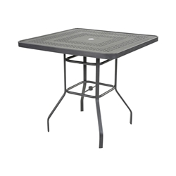 "Windward Mayan Aluminum 36"" Square Balcony Table - KD3618-36SMYNU"