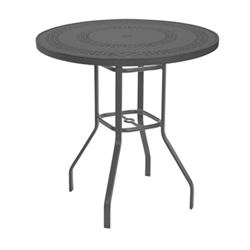 "Windward Mayan Aluminum 36"" Round Bar Table - KD3618BMYNU"