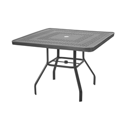 "Windward Mayan Aluminum 36"" Square Dining Table - KD3618SMYN"
