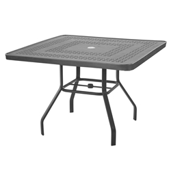 "Windward Mayan Aluminum 42"" Square Dining Table - KD4218SMYNU"