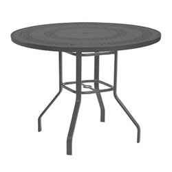 "Windward Mayan Aluminum 47"" Round Balcony Table - KD4718-36MYNU"