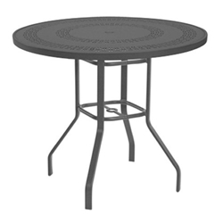 "Windward Mayan Aluminum 47"" Round Bar Table - KD4718BMYNU"
