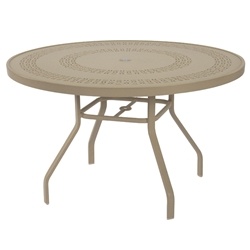 "Windward Mayan Aluminum 47"" Round Dining Table - KD4718MYNU"
