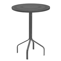 "Windward Mayan Aluminum 30"" Round Bar Table - WT3018BMYN"