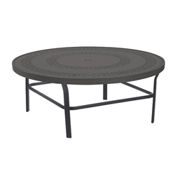 "Windward Mayan Aluminum 36"" Round Conversation Table - WT3618CDMYN"