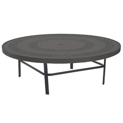 "Windward Mayan Aluminum 47"" Round Conversation Table - WT4718CDMYNU"