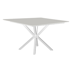 "Windward MGP 40"" Square Dining with X-Base - KD4025S"