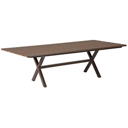 "Windward Tahoe Plank 42"" X 98"" Rectangle Dining Table  - KD4298-25STP"