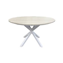 "Windward Tahoe Plank 46"" Round Dining Table - KD4625TP"
